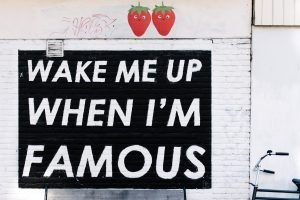 svegliatemi quando sarò famoso