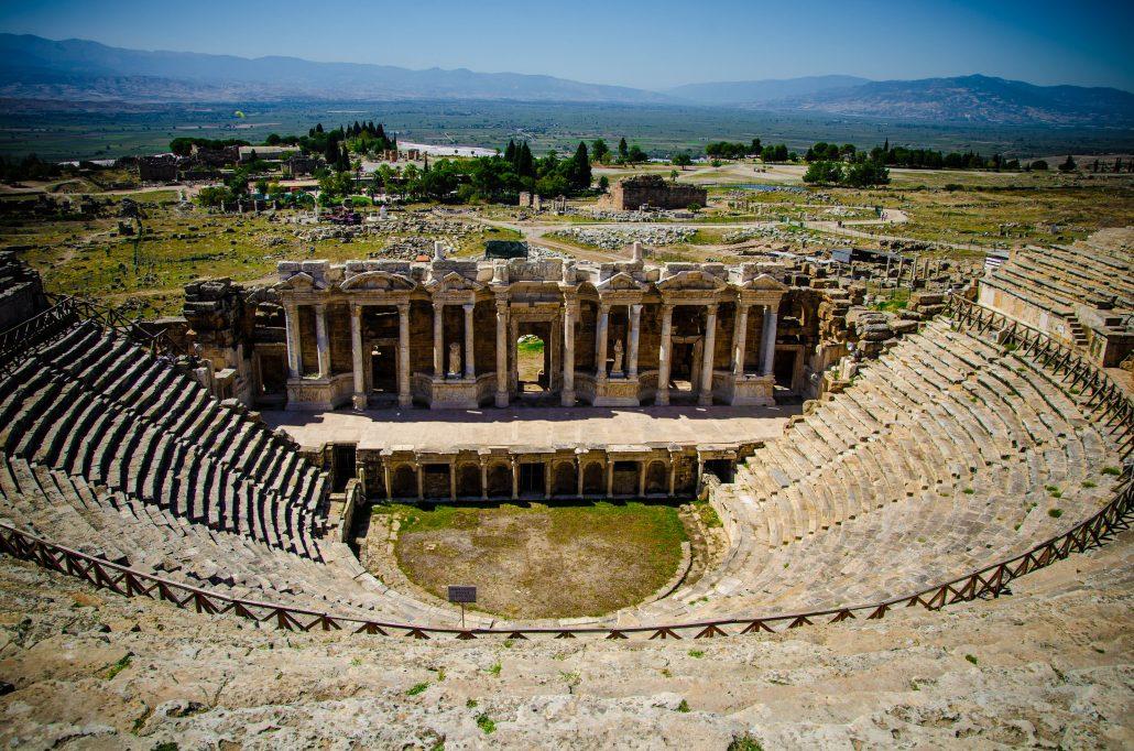 teatro hierapolis pamukkale