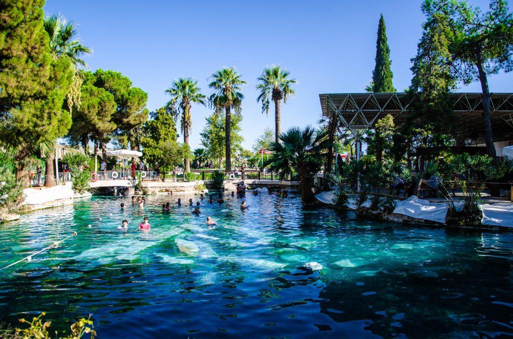 piscina di cleopatra pamukkale