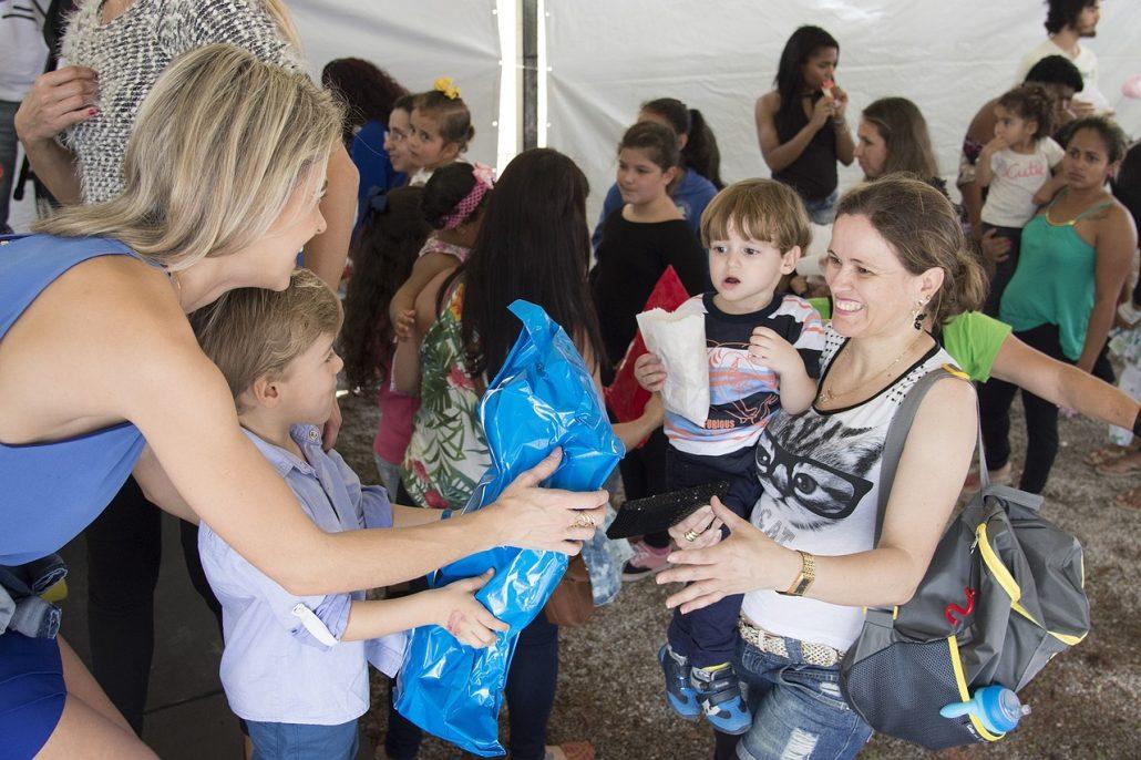 volontariato con bambini