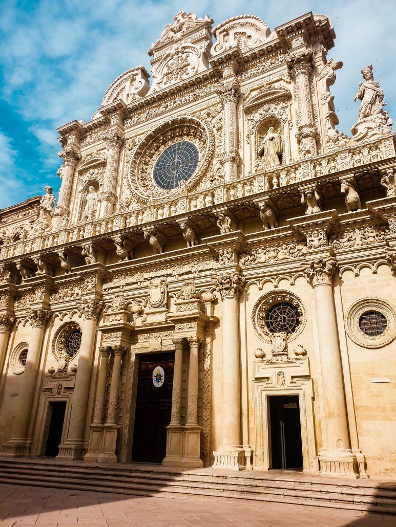 Basilica di Santa Croce Lecce itinerario in salento