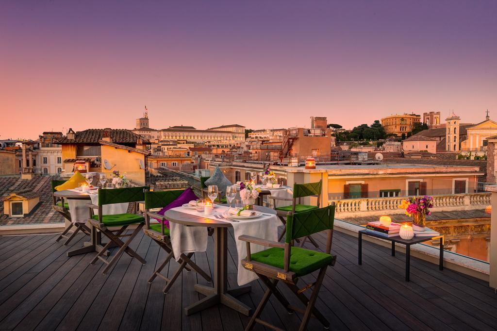 singer palace terrazza panoramica vista tramonto