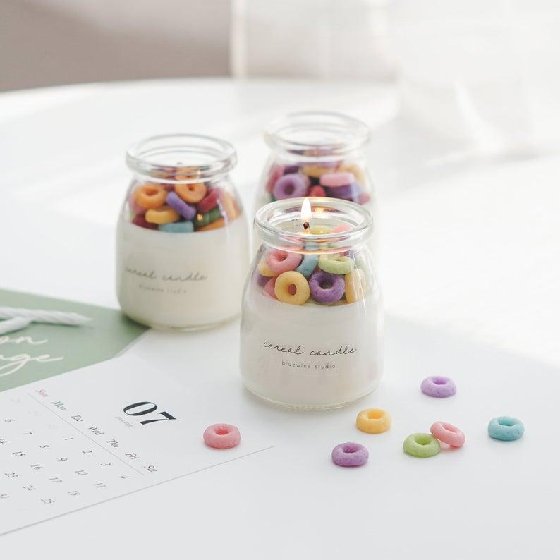 candele a forma di cereali