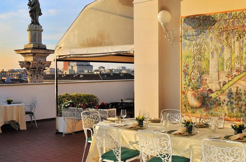 la terrazza dei papi roma- migliori rooftop