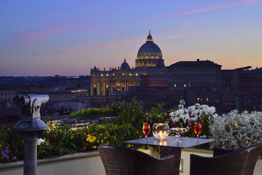les etoiles terrazza con vista roma