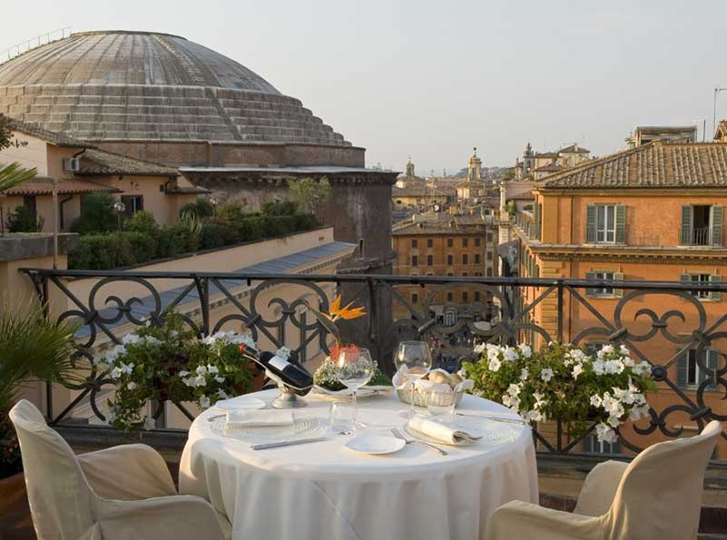 minerve roof garden terrazza panoramica a roma