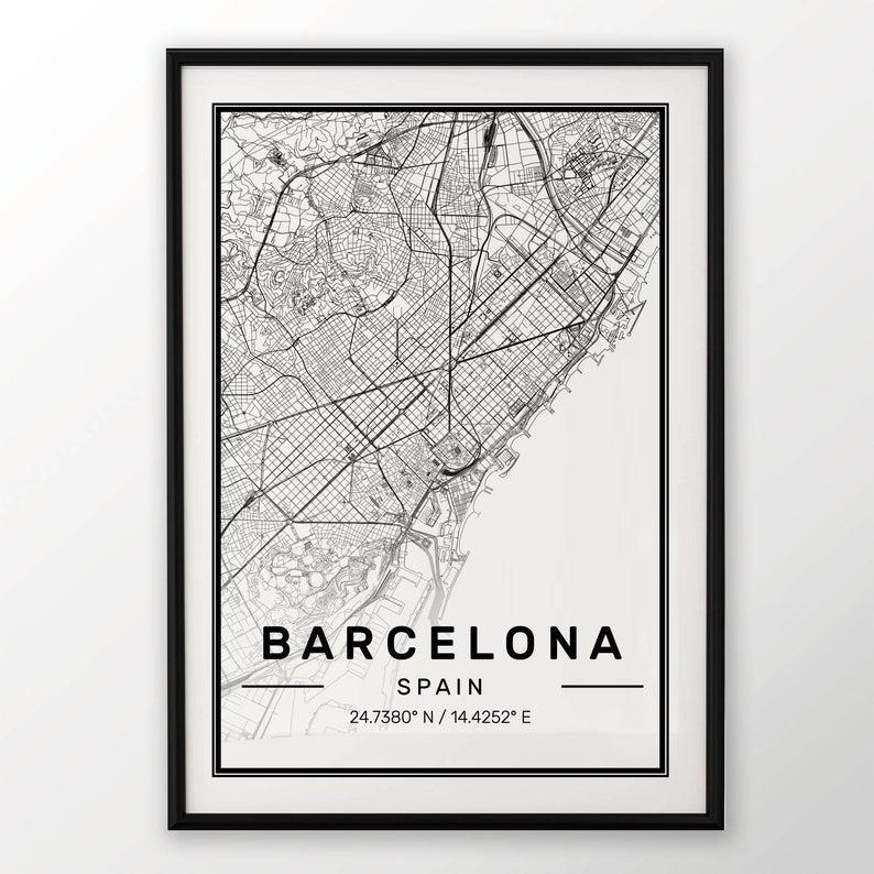 mappa città consigli regali di natale