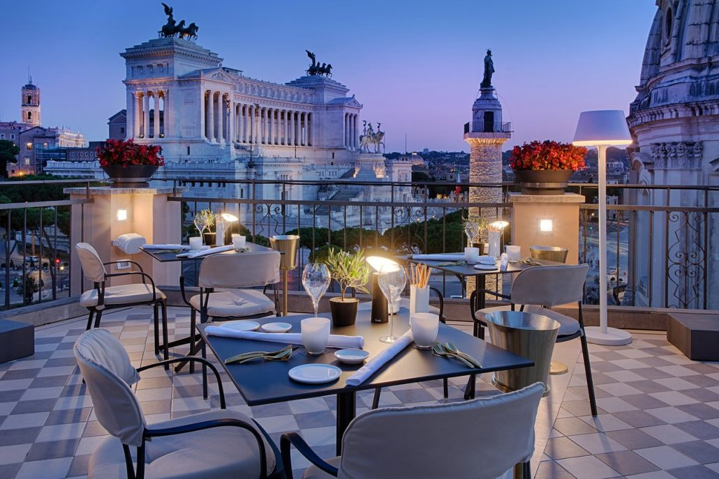 nh collection rooftop a roma
