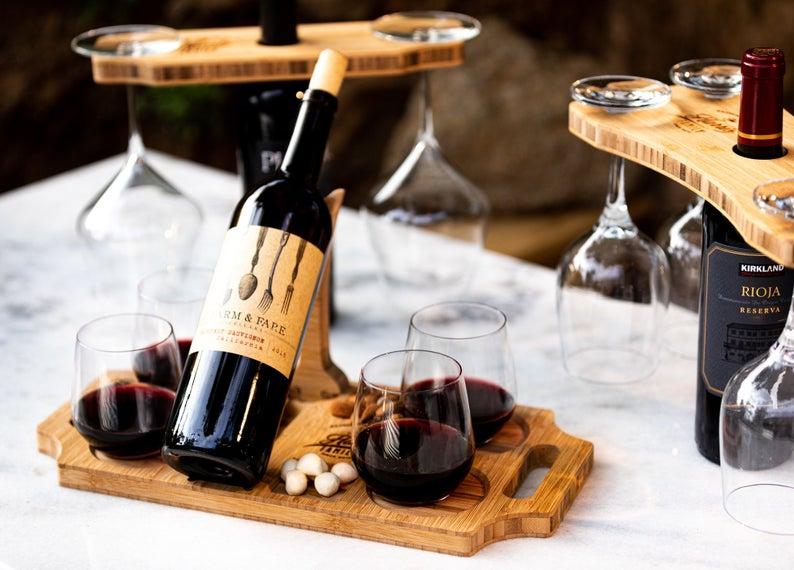 wine set regali di natale