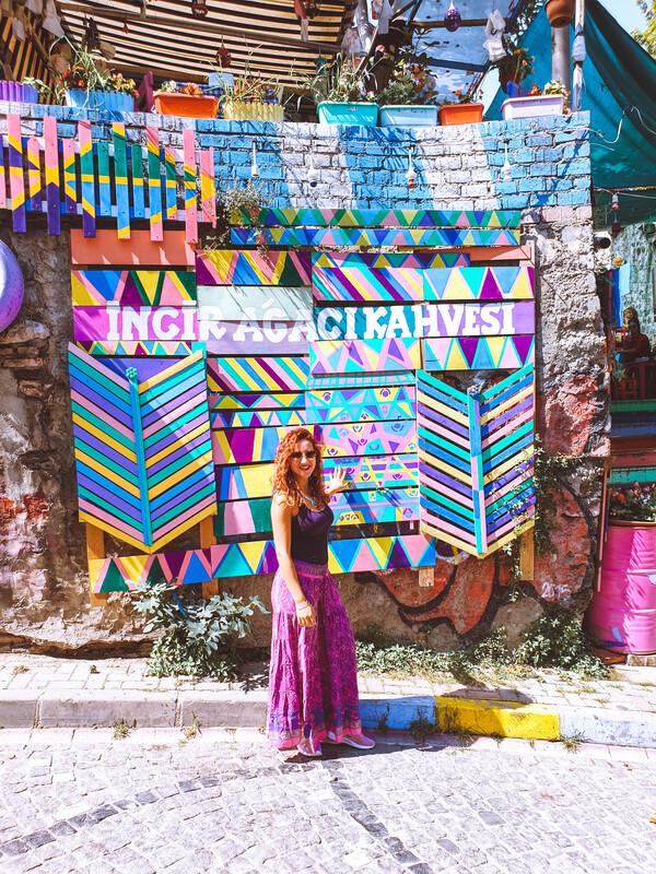 cosa vedere a istanbul - luoghi colorati instagrammabili