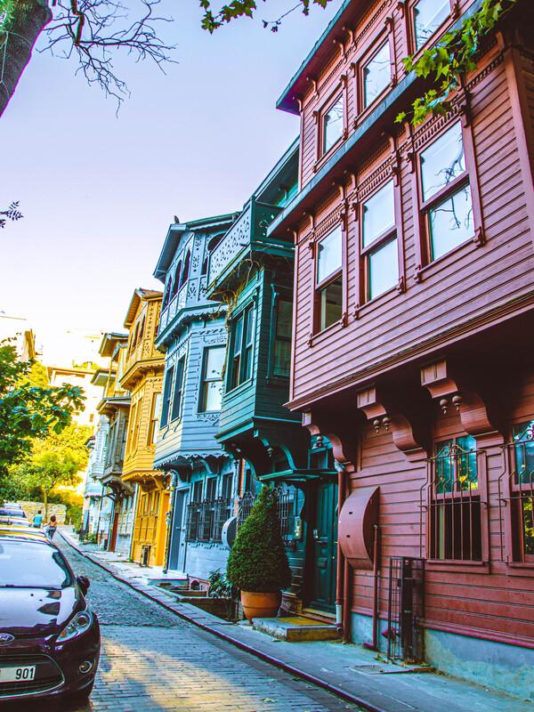 Case colorate quartiere kuzguncuk cosa vedere a istanbul