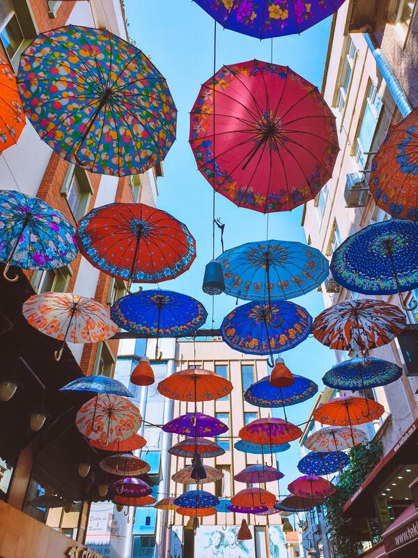 ombrelli instagrammabili istanbul