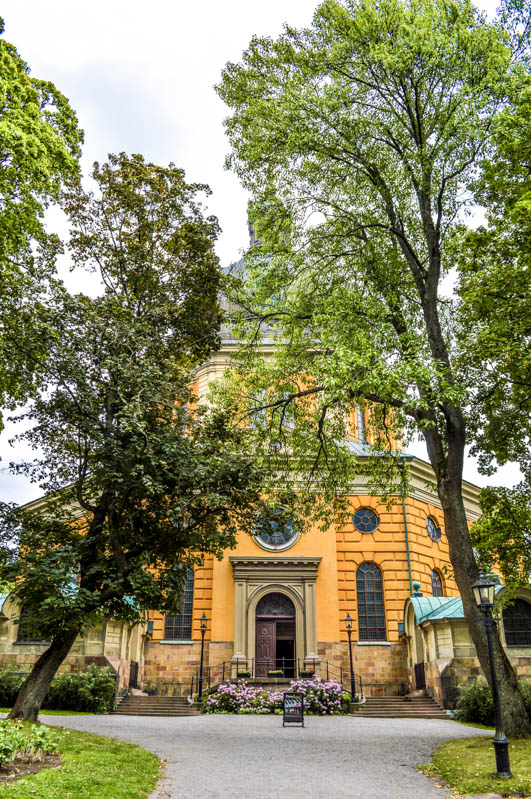 Hedvig Eleonora Church visitare stoccolma