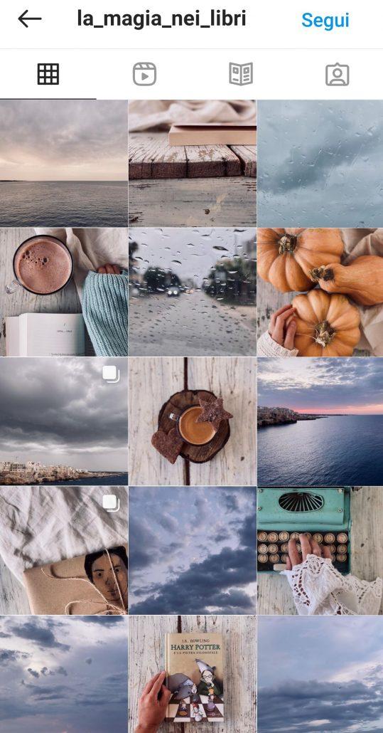 colori pastello instagram