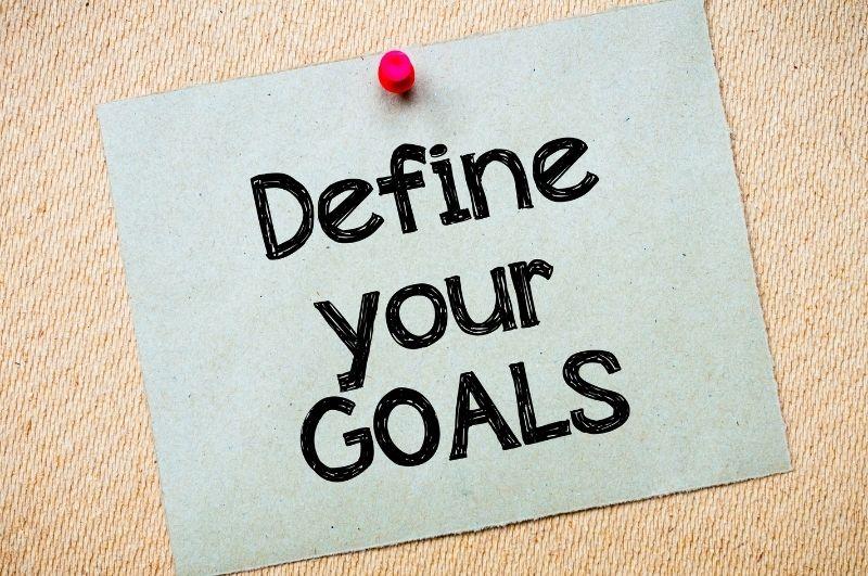 definisci i tuoi obiettivi