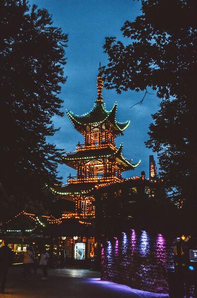 tivoli struttura stile giapponese