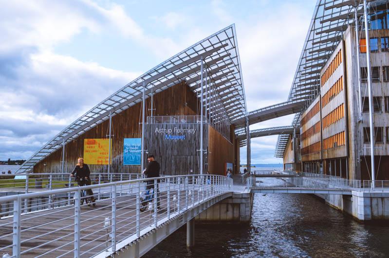 museo d'arte moderna a aker brygge