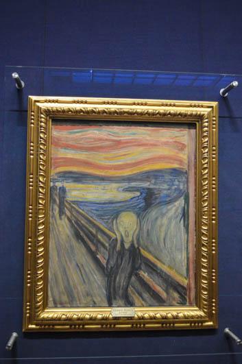 l'urlo di munch nella galleria nazionale di oslo