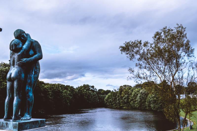 statua a vigeland park a oslo