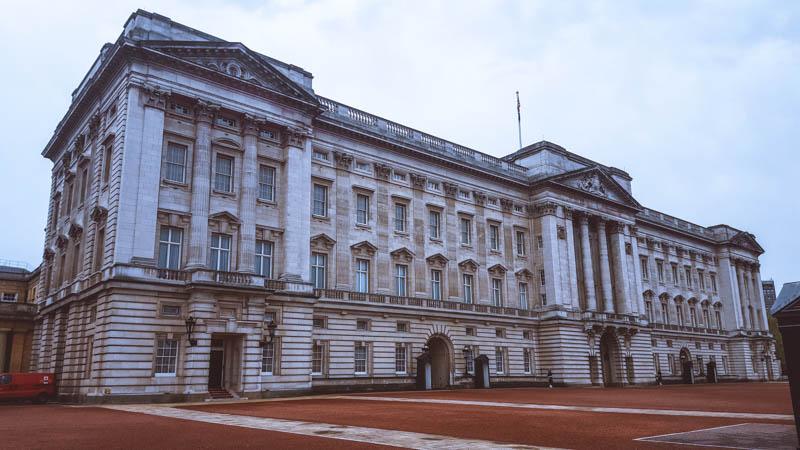 buckingam palace itinerario di londra in 3 giorni