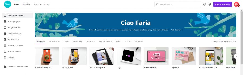 homepage canva