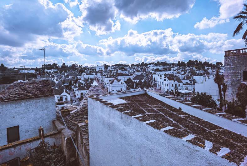 Alberobello dall'alto
