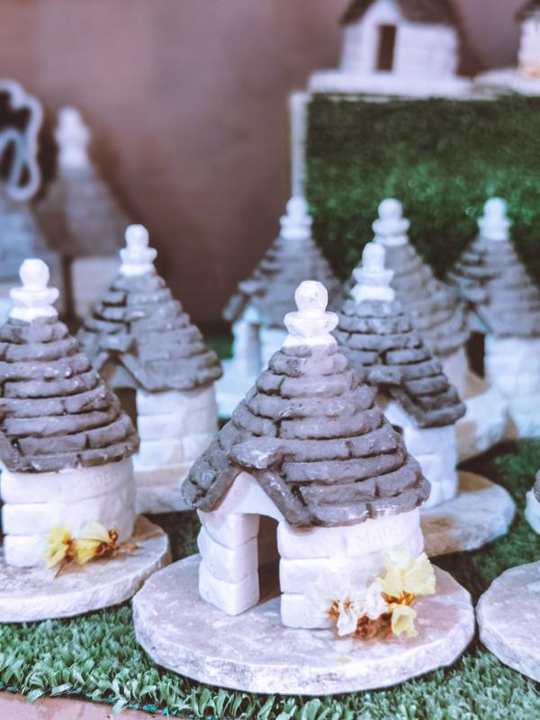 trulli in miniatura bottega alberobello
